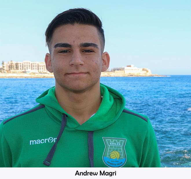 C 16 Andrew Magri