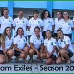 Exiles Ladies 2017