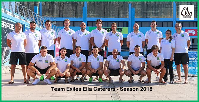 Exiles 2018 squad