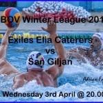 PIC vs San Giljan Winter