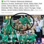 Ferencvaros Winning CL Team 2019